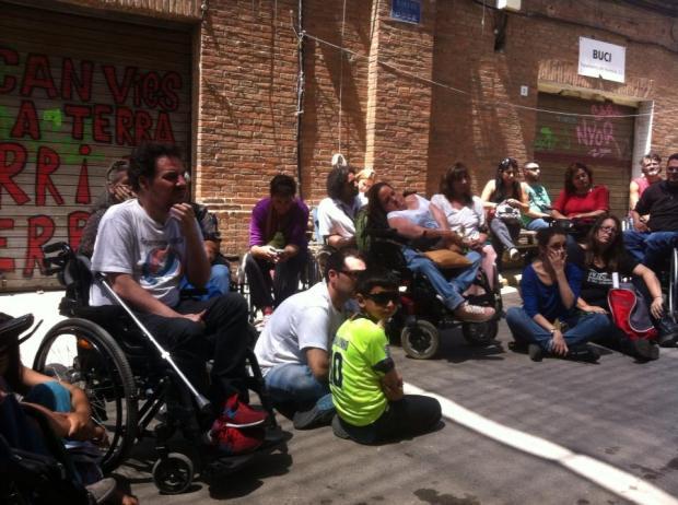 Foto tomada por Xavi Dua el 7 de junio durante la #primaveracacharrera cedida a En torno a la silla CC BY