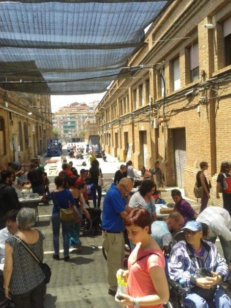"""""""Feria de objetos"""" Foto tomada el 7 de junio durante la #primaveracacharrera por En torno a la silla CC BY"""